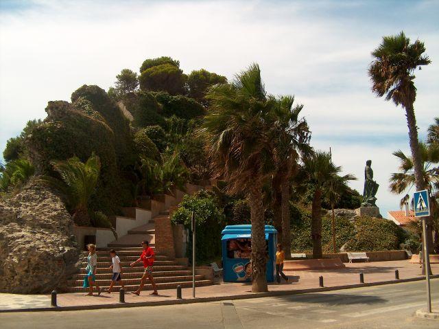 Peñón de San Cristobal. Almuñecar