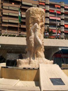 monumento a los fenicios. Almuñecar