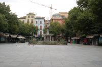 Plaza de bibrambla a las 8 horas
