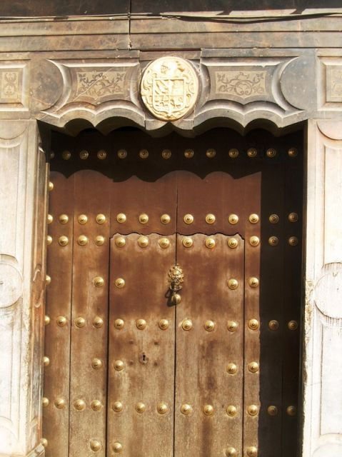 Puerta antigua fotos de granada y su provincia for Puerta casa antigua