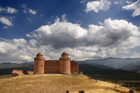 Bonita foto del Castillo de La Calahorra