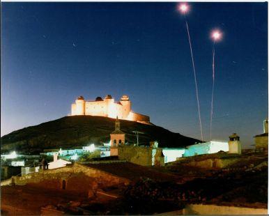 Castillo de La Calahorra en fiestas