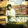 No hay feria sin vendedores de coco.