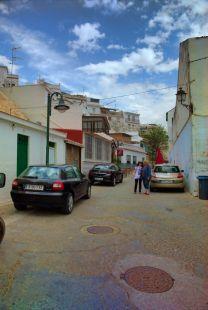 Calle en La Caleta ( Salobreña ).