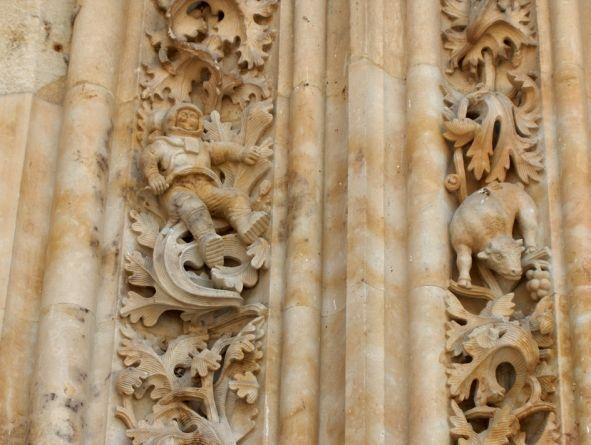 El astronauta de la Catedral de Salamanca