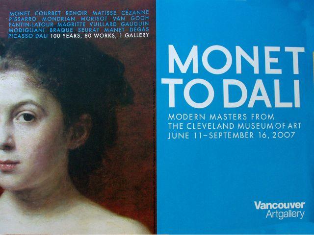 de Monet a Dali