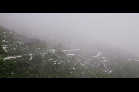 Parque Pena Escrita nevada