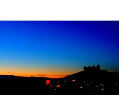 Preciosa vista de La Calahorra