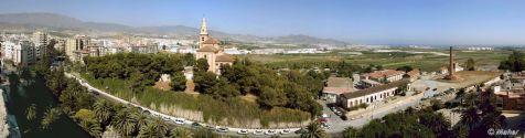 Motril, panorámica del Cerro de la Virgen y su entorno