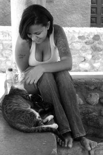 Carla y el gato
