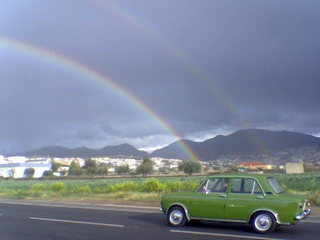 En 850 al arco iris