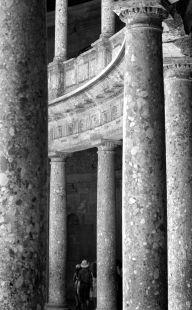 Palacio de Carlos V. Perspectiva curva