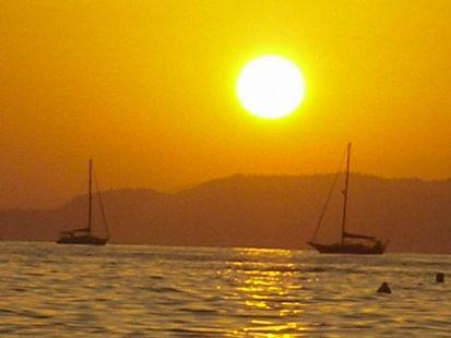 el crepúsculo en la navegacion