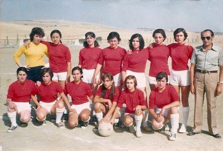 Equipo femenino años 80