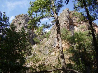 Camino del nacimiento del río Andarax
