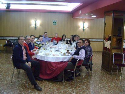 cena de navidad C.A.B. LINARES