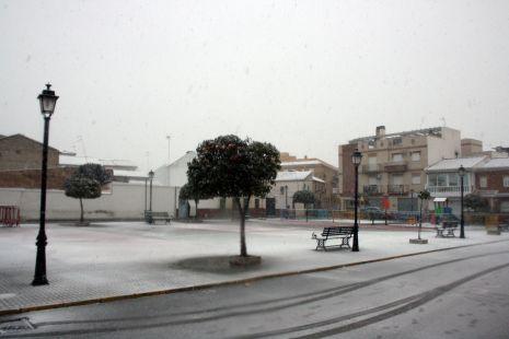 Plaza Roja. Blanca