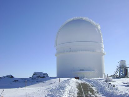 centro astrofisico de calar alto