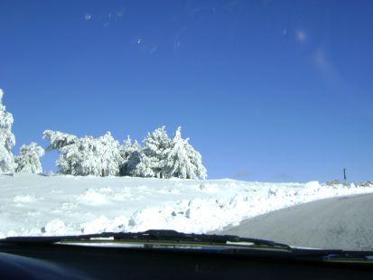 nevada en los filabres