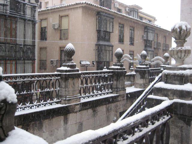 Escalinata de la calle Campanas