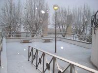Nieve inmaculada... soy el primero en pasar.