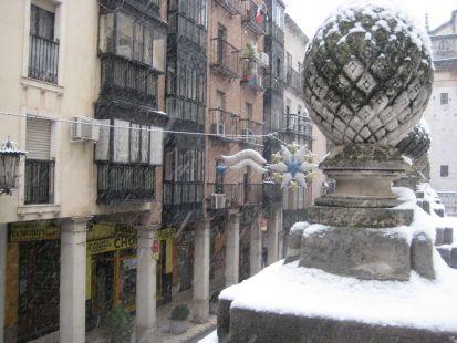 Detalle en la calle Campanas