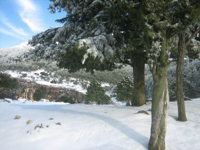El Chorro, Parque natural de cazorla, segura y las villas.