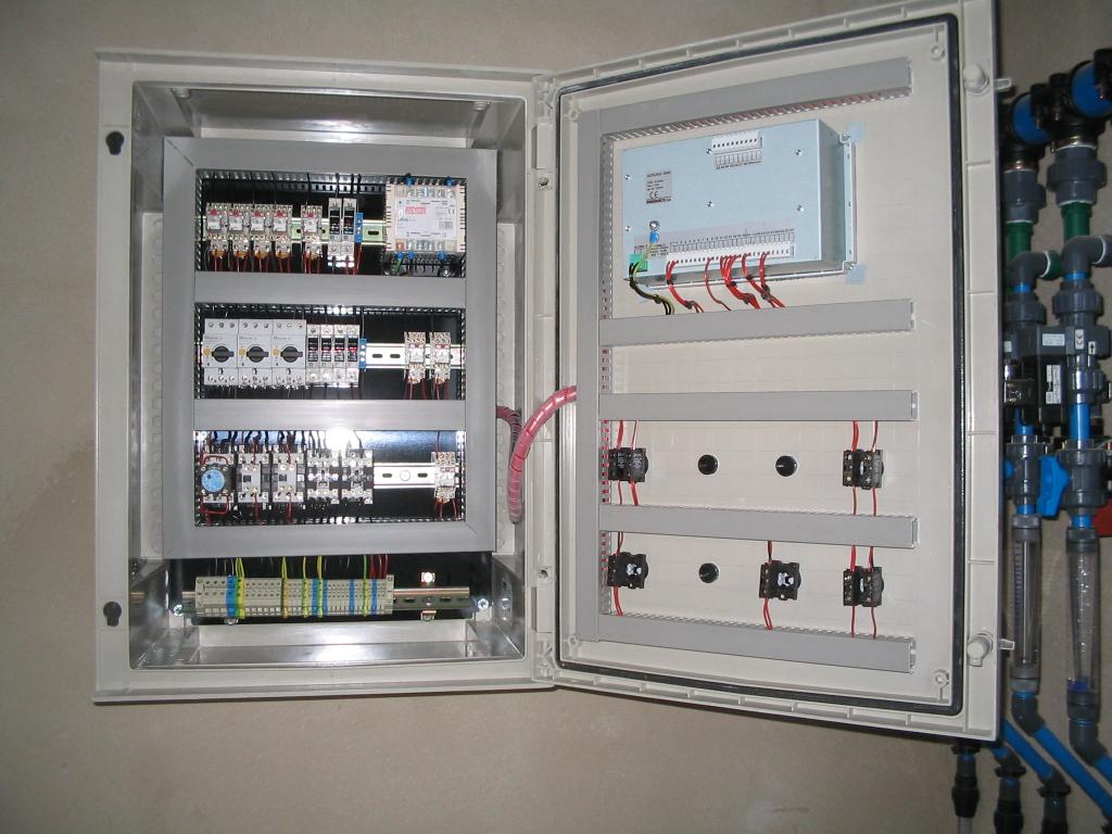 Cuadro electrico fotos de de cerca y macros for Armario contador luz