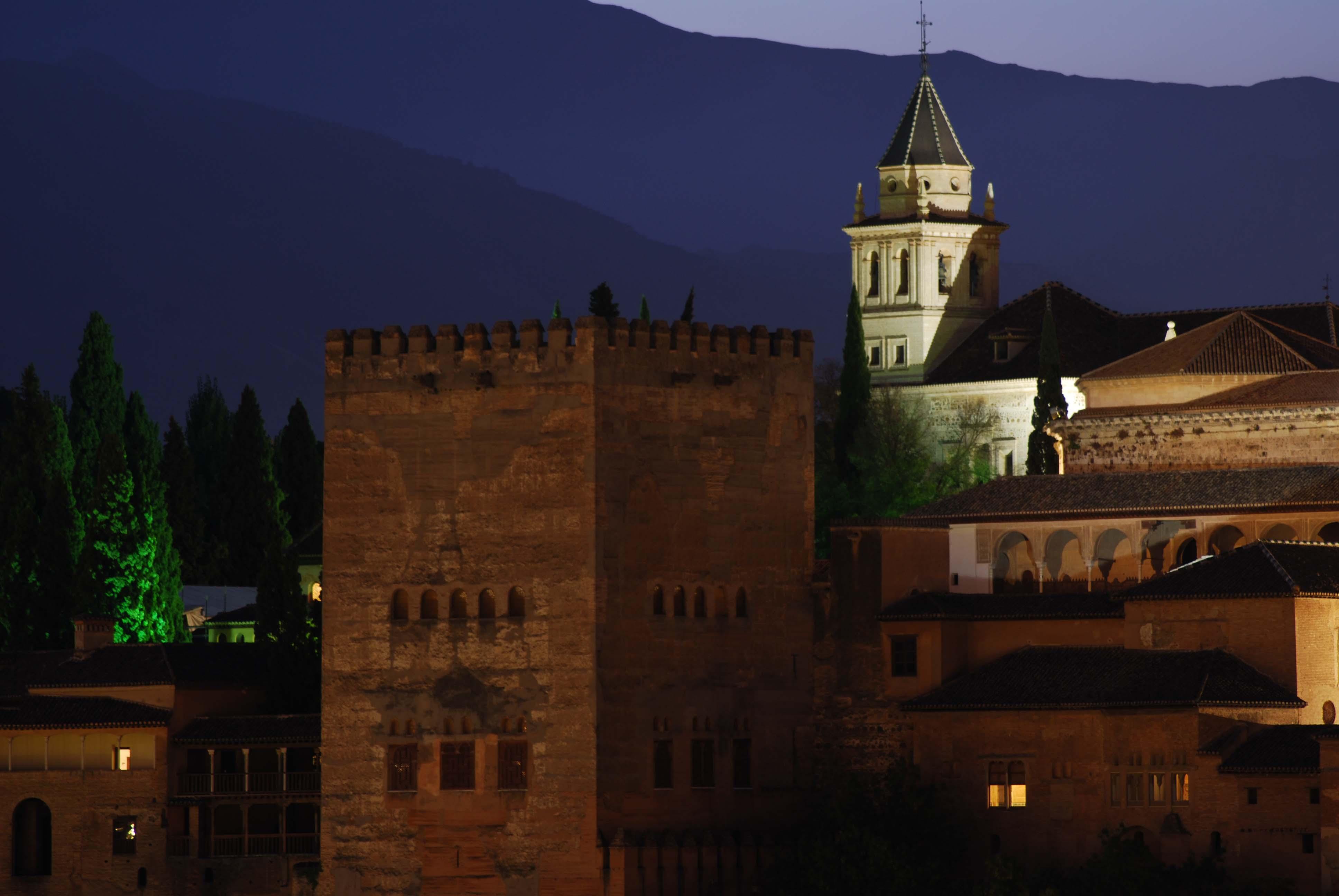 Torre de Comares  fotos de Granada monumental