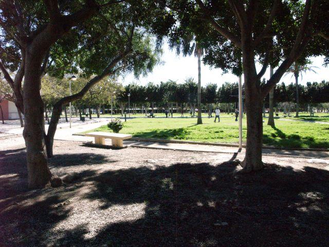 Parque municipal de  El Ejido