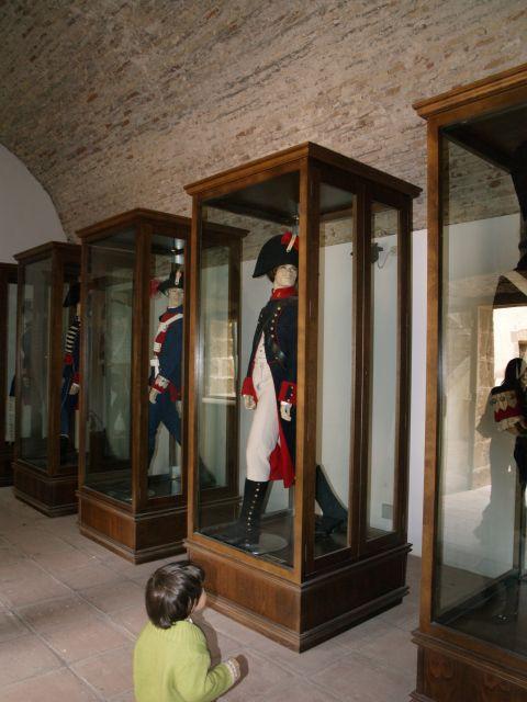 Trajes de los soldados del siglo XVIII
