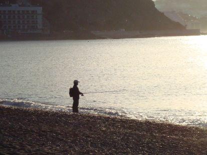 La soledad del pescador