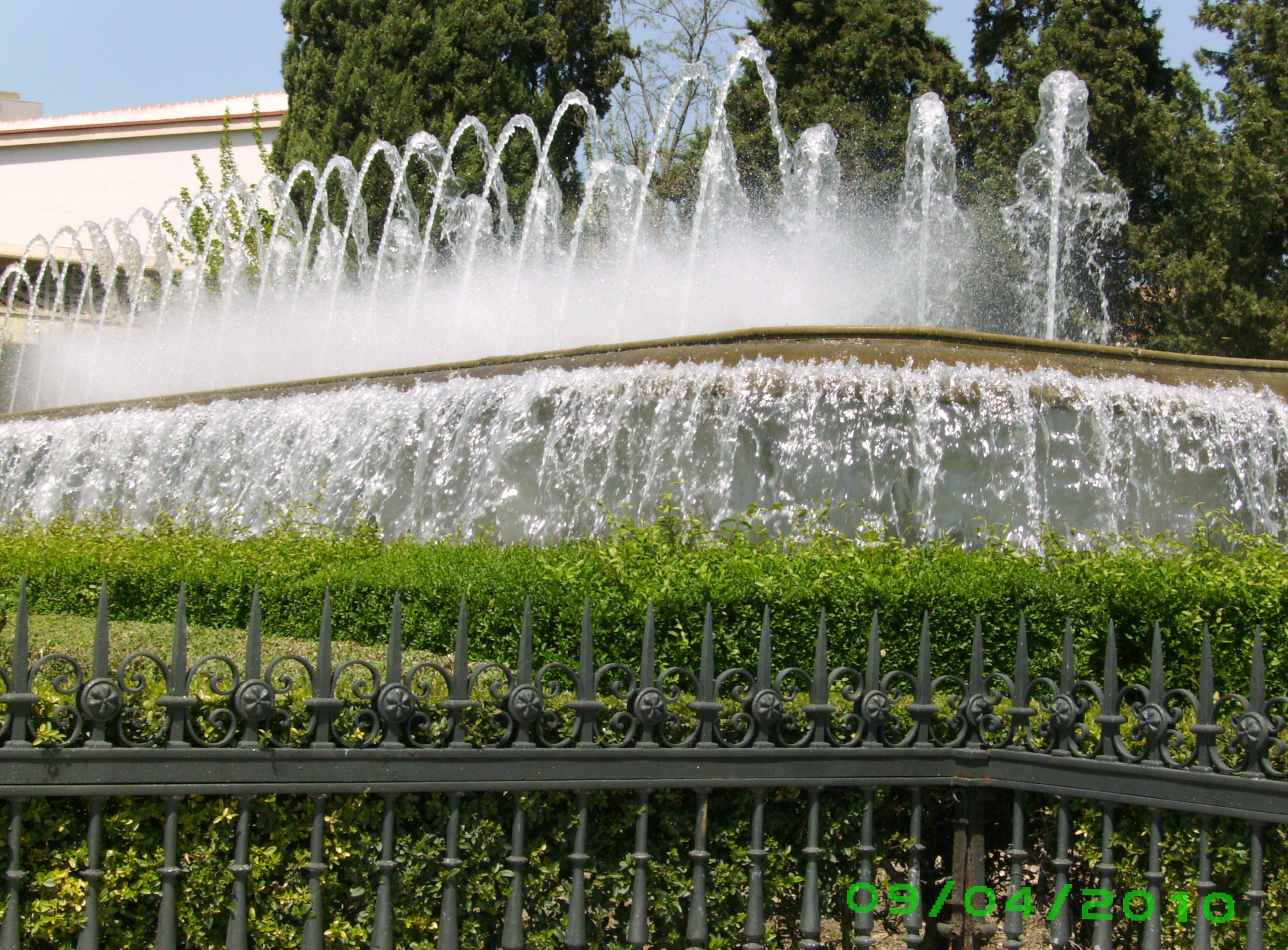 Fuente y jardines del triunfo fotos de granada monumental for Jardines triunfo granada