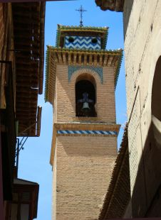 Torre mudejar de la Iglesia de Santa Ana