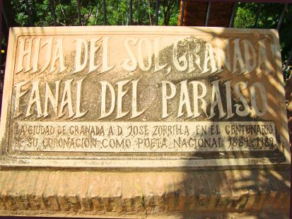 Homenaje de Granada a Zorrilla