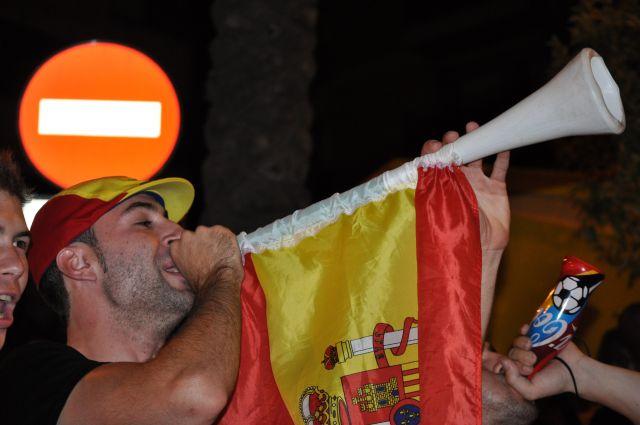 Vuvuzelas españolas.