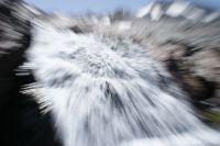explosion de agua