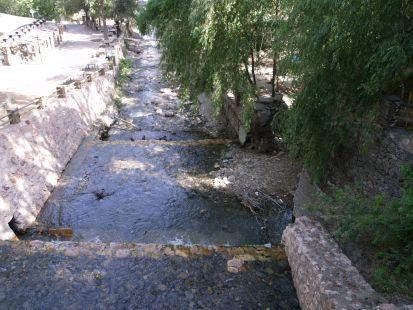 Cauce del rio Andarax