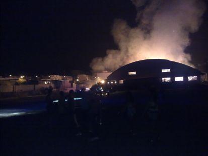 Incendio en Vicar. Ahondigas Costa de Almeria
