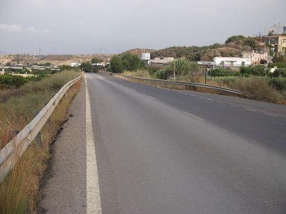 carretera a rioja,por pechina