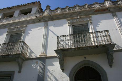 Detalle de la Casa del Cónsul de Portugal en Gabia