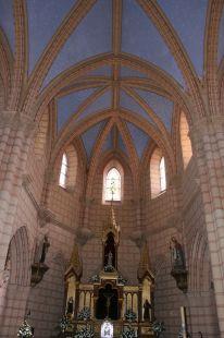 Interior de la Iglesia de Gabia Grande