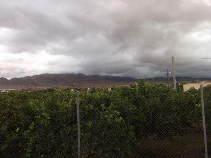 abundante nubosidad