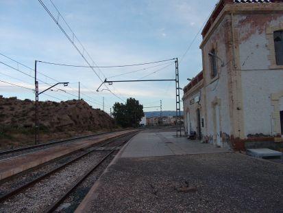 panoramica de la estacion