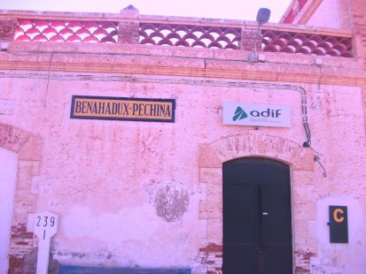 estacion de renfe en benahadux