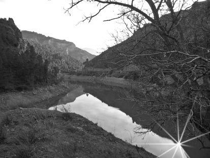 Pantano de Quentar.