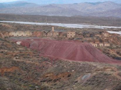 antiguas minas de azufre