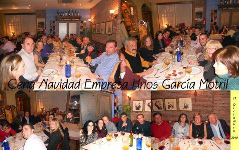 Cena Navidad Empresa Hnos Garcia Motril