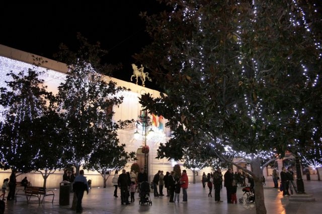 Plaza del Carmen navideña