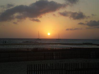 Tarifa Puesta de Sol sobre el Atantico